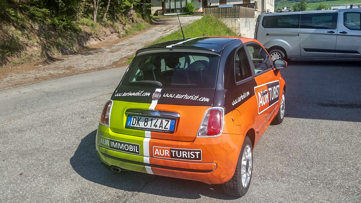 Baur & Steinwandter - Fahrzeugvollbeklebung Aurimmobil